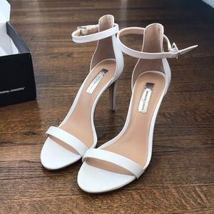 INC EXCELLENT CONDITION white heels